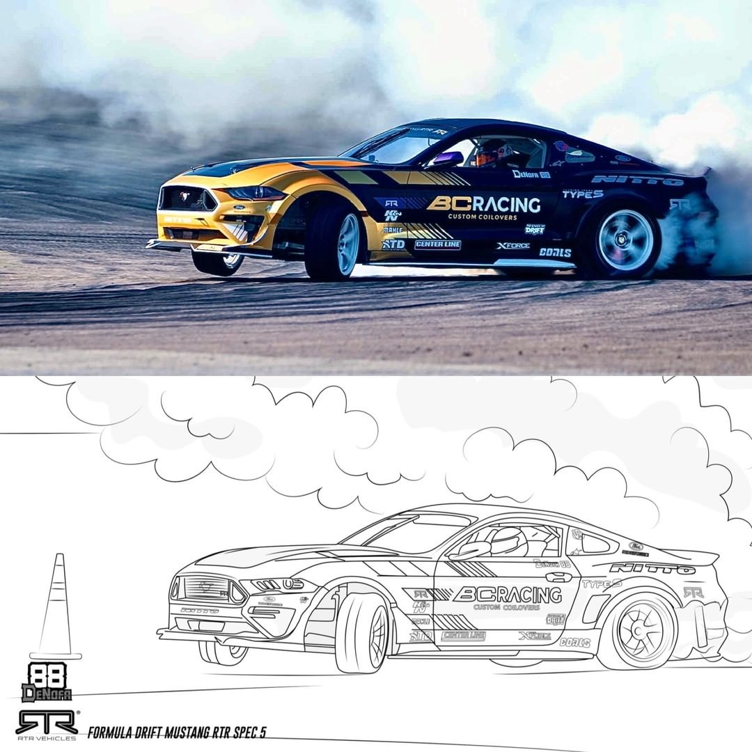 BC Racing Colouring Books - Free Download