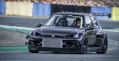 The Peugeot 106 Evolution...