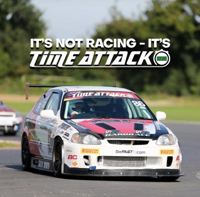 It's not racing…it's Time Attack!